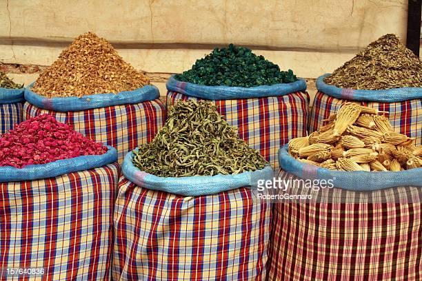 Marrakesh-Straßenmarkt