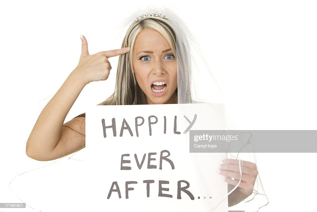 marriage and divorce concept : Stock Photo