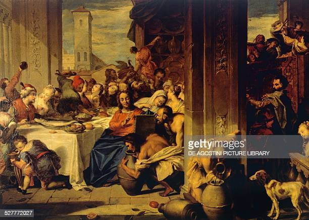 Marriage at Cana painting by Nicolas Vleughels France 18th century Bayreuth Neuen Schloss