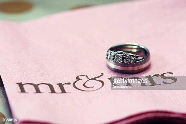 Marriage. Bride & Groom's Wedding Rings