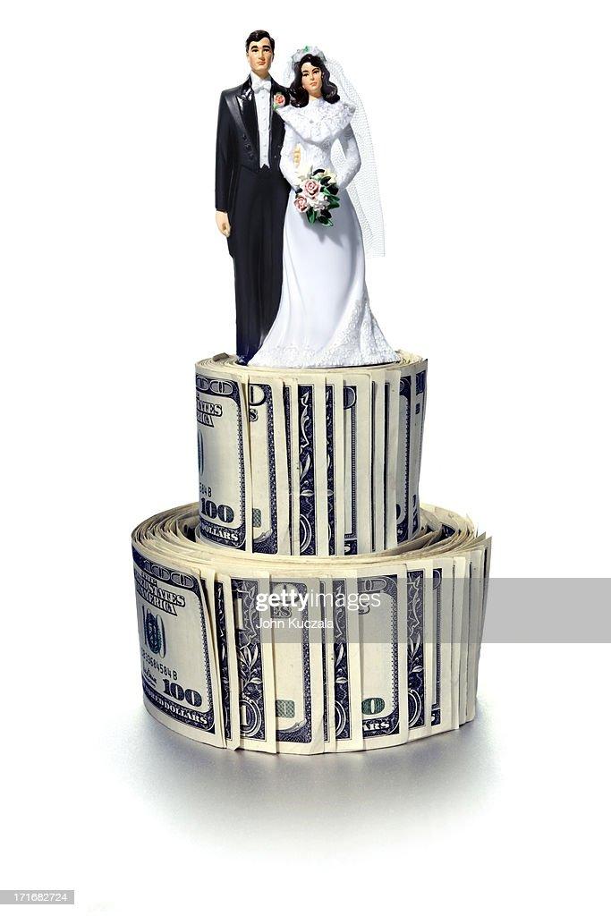 Marriage expense : Stock Photo