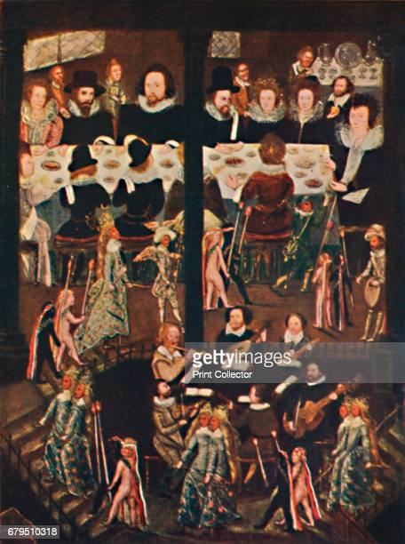 Marriage Feast of Sir Henry Unton' c1596 From the collection of the National Portrait Gallery London From Social England Volume III edited by HD...