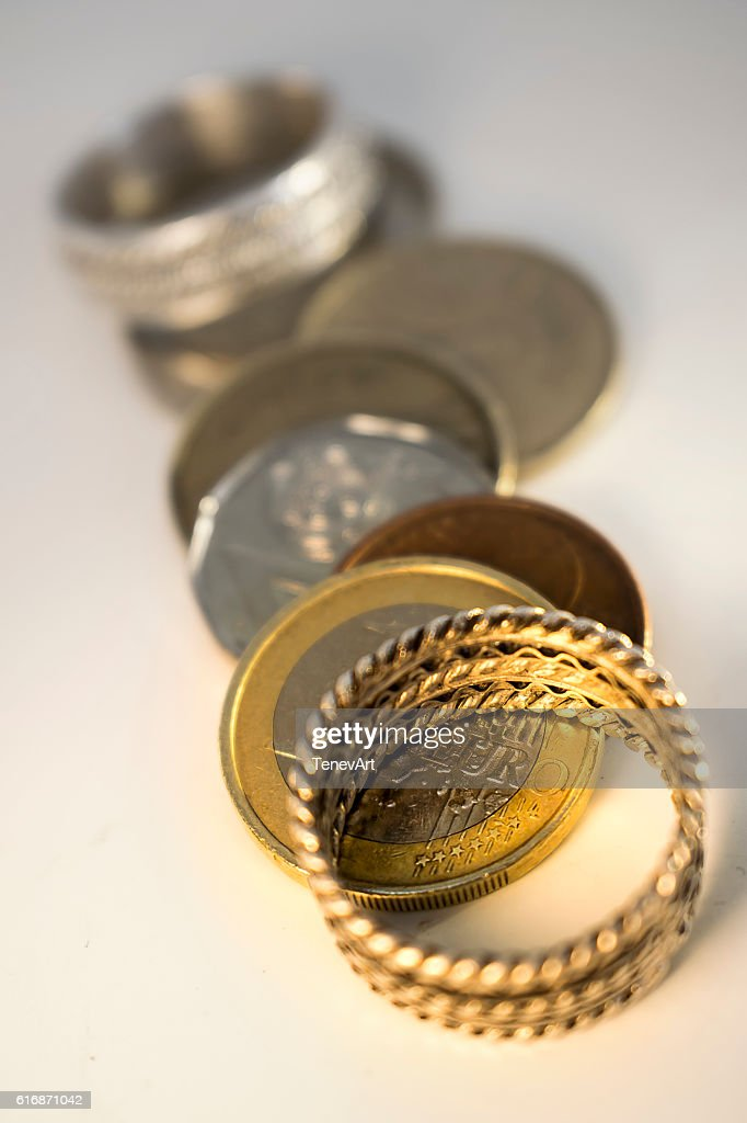 Marriage for Money : Stock Photo