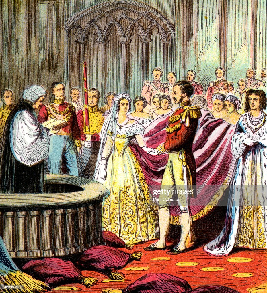 'Marriage of Queen Victoria' 1840 The Queen married her cousin Prince Albert of SaxeCoburg and Gotha in the Chapel Royal at St James' Palace on 10...