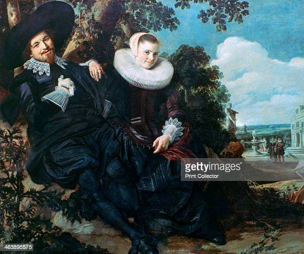 'Married Couple in a Garden' c1622 From the collection of the Rijksmuseum Amsterdam