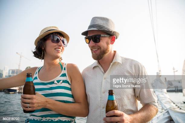 Married Couple on Sailboat