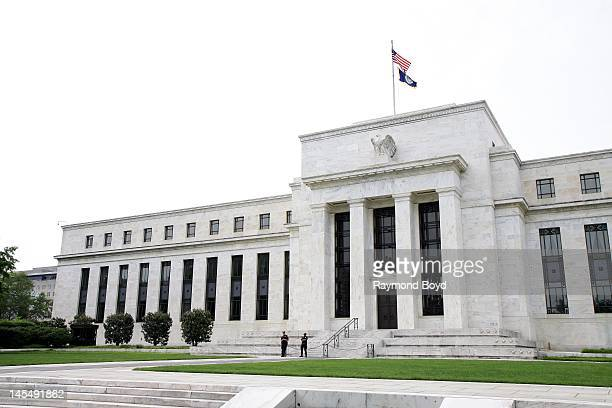 Marriner S Eccles Federal Reserve Board Building in Washington DC on MAY 13 2012