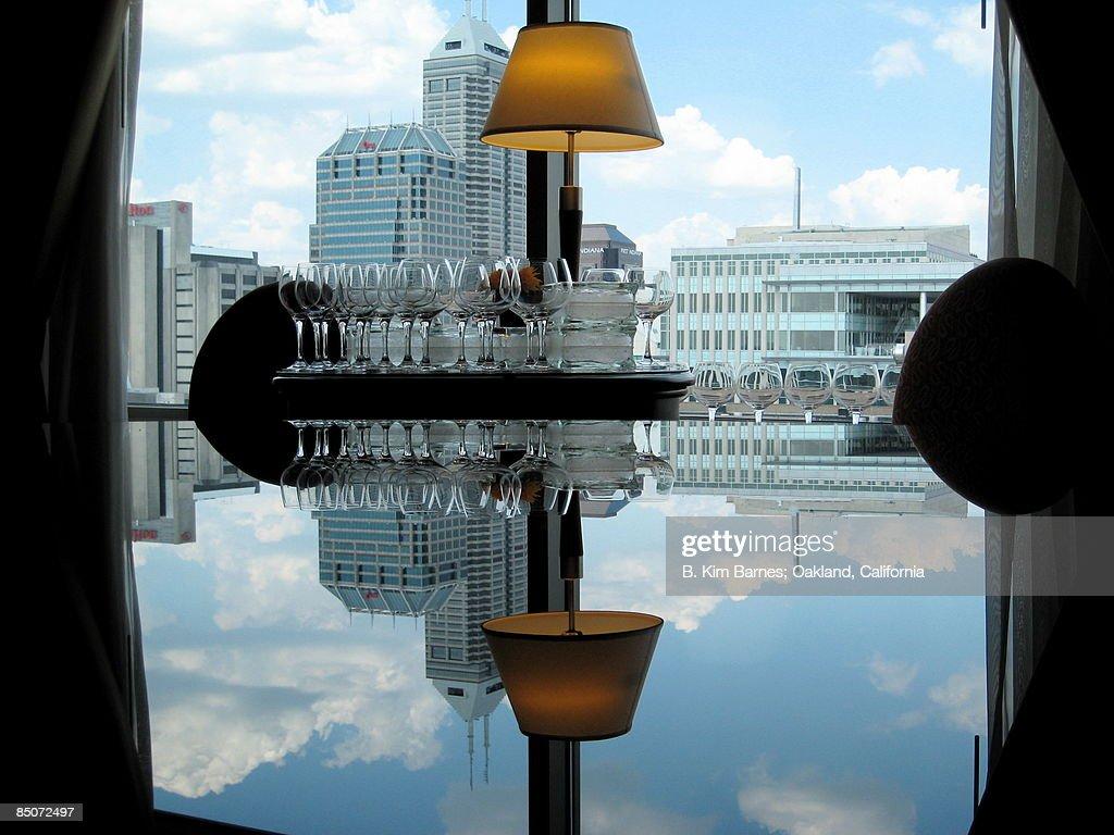 Marriott reflections : Stock Photo