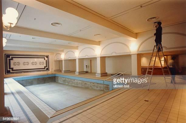 MarriottHotel an der ABCStrasse Bauarbeiten am Schwimmbad