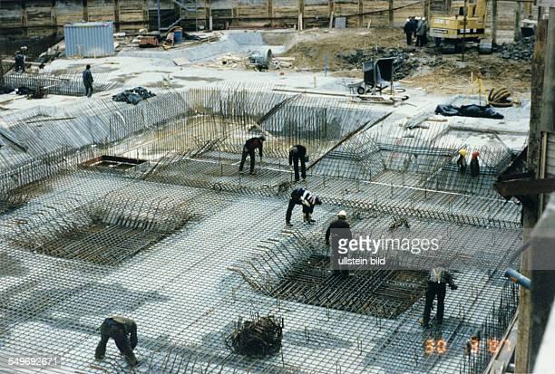 MarriottHotel an der ABCStrasse Baubeginn Fundamente werden gegossen