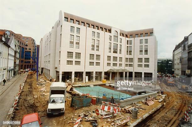 MarriottHotel an der ABCStrasse Baustelle
