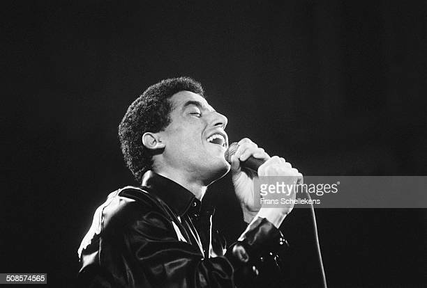 Marrocan singer Cheb mami vocal performs at the Paradiso on 27th December 1991 in Amsterdam Netherlands