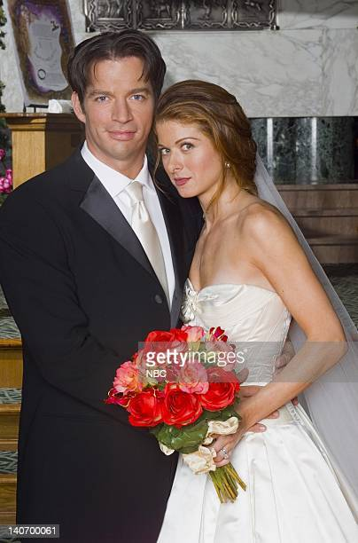 WILL GRACE 'Marry Me a Little' Episode 8 Pictured Harry Connick Jr as Leo Markus Debra Messing as Grace Adler Photo by NBCU Photo Bank