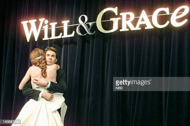 WILL GRACE 'Marry Me a Little More' Episode 9 Pictured Debra Messing as Grace Adler Eric McCormack as Will Truman Photo by NBCU Photo Bank