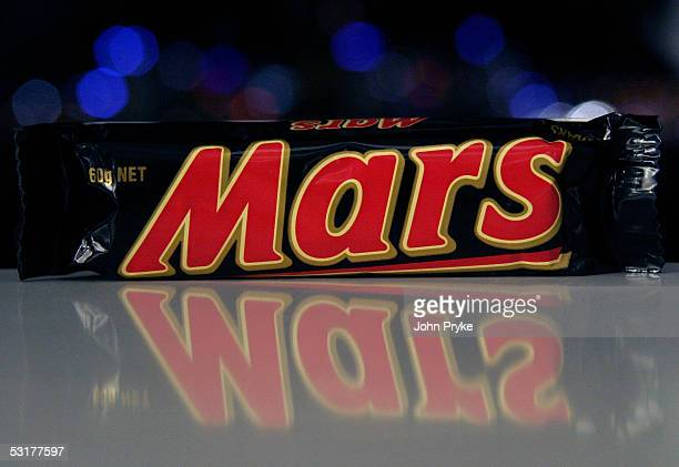 Mars bar is seen on July 1 2005 in Sydney Australia Snickers and Mars Bars were withdrawn from sale in the Australian state of New South Wales after...