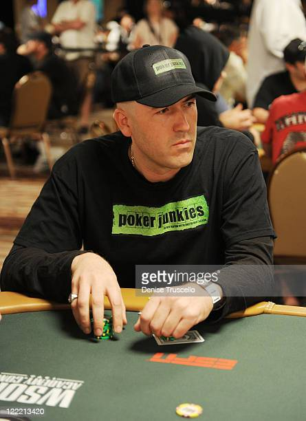 Mars Callahan during the 2010 World Series of Poker at The Rio Hotel And Casino Resort on July 10 2010 in Las Vegas Nevada