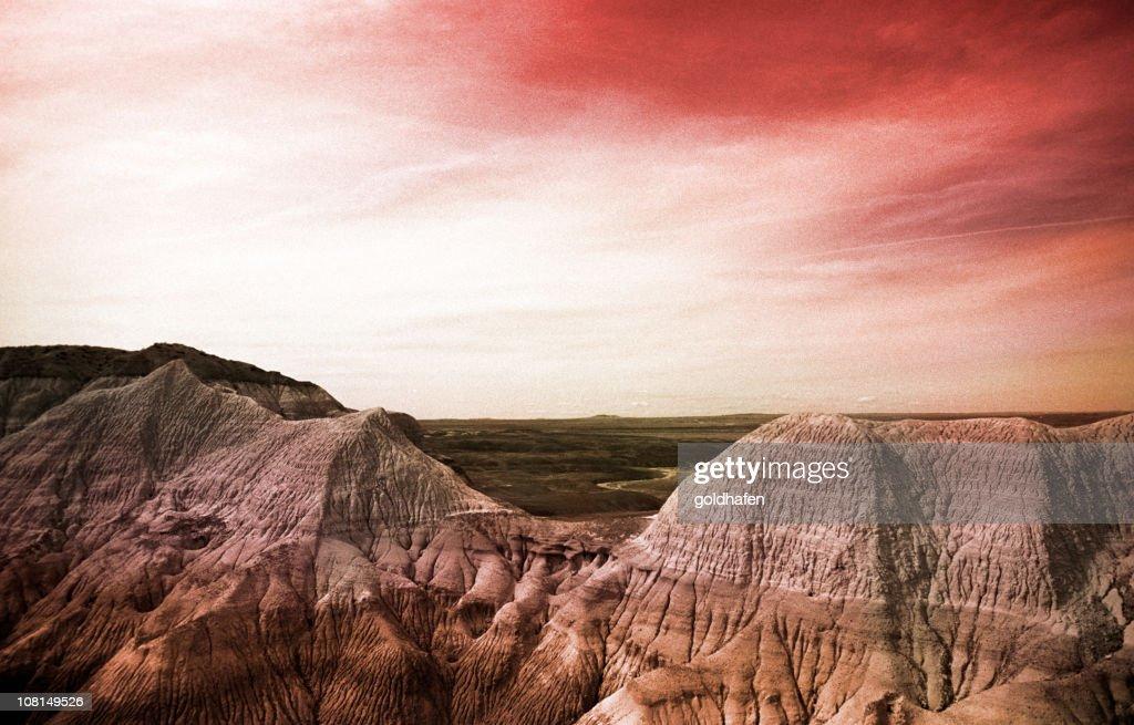 mars landscape : Stock Photo