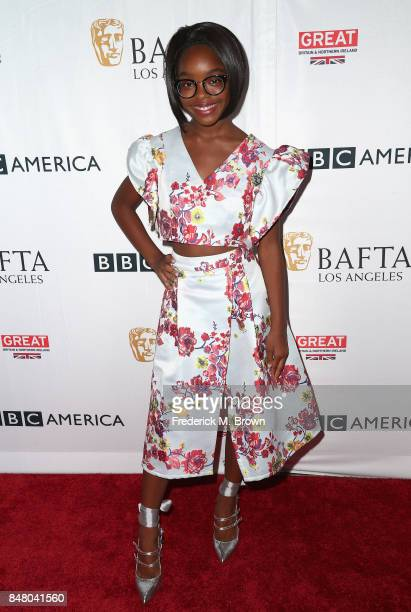 Marsai Martin attends the BBC America BAFTA Los Angeles TV Tea Party 2017 at The Beverly Hilton Hotel on September 16 2017 in Beverly Hills California