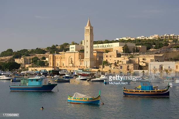 Marsaskala Harbor, Malta