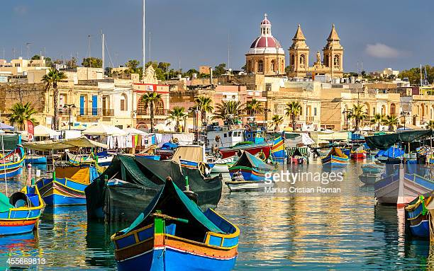 CONTENT] Marsaxlokk Bay Malta s second largest natural harbour it s the best place to see the colourful traditional Maltese fishing boats the Luzzus...