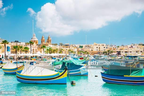Marsaxlokk Harbor, Malta