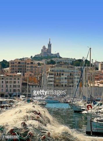 Marseille and Notre Dame de la Garde
