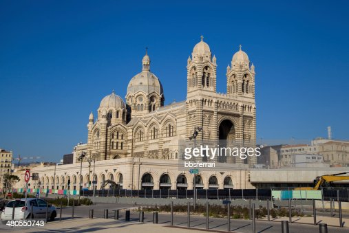 Marseille Cathedral : Stock Photo