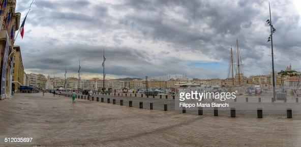 Marseille cityscape
