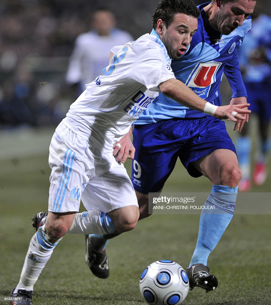 Marseille s forward Mathieu Valbuena L