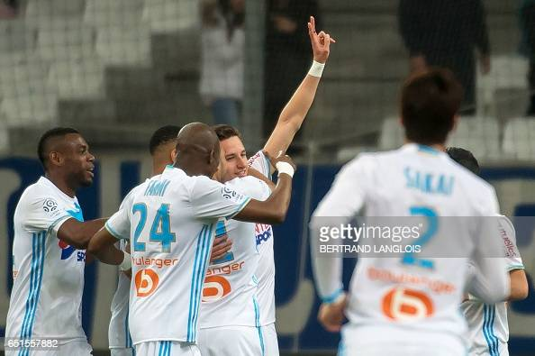 FBL-FRA-LIGUE1-MARSEILLE-ANGERS : News Photo
