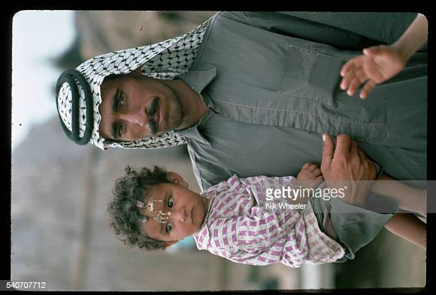 Marsh Arab Father and Daughter