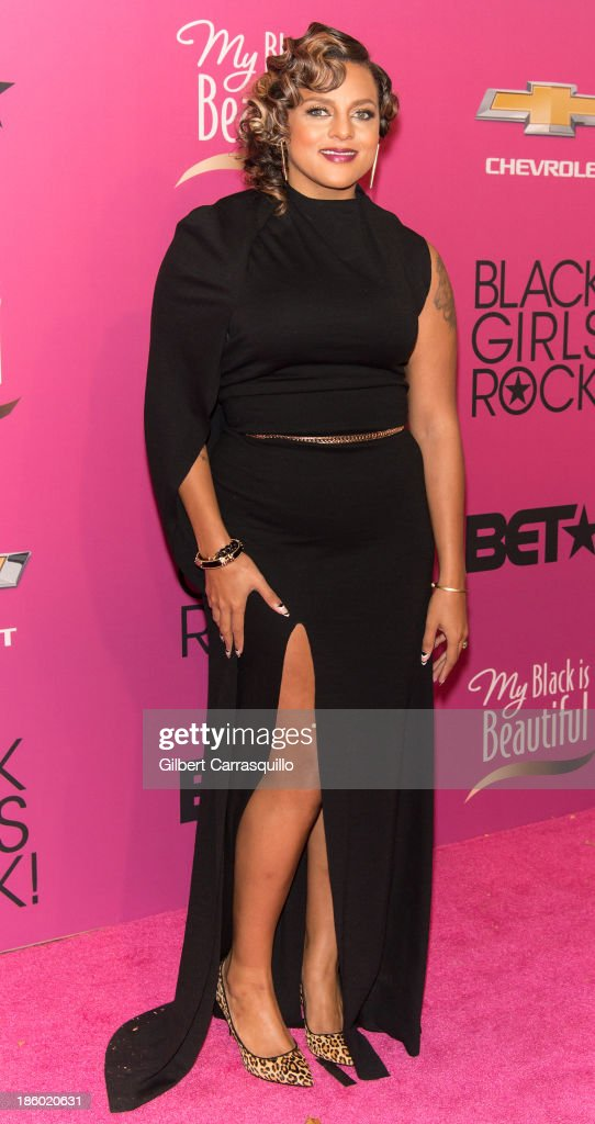 Marsha Ambrosius attends Black Girls Rock! 2013 at New Jersey Performing Arts Center on October 26, 2013 in Newark, New Jersey.