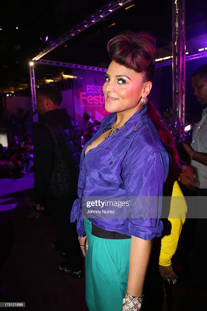 <a gi-track='captionPersonalityLinkClicked' href=/galleries/search?phrase=Marsha+Ambrosius&family=editorial&specificpeople=825480 ng-click='$event.stopPropagation()'>Marsha Ambrosius</a> attends the 2013 Essence Festival at the Mercedes-Benz Superdome on July 7, 2013 in New Orleans, Louisiana.