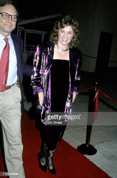 Marsha Mason And Date during Premiere of 'Dancers' October 7 1987 at AMC Theater in Century City California United States