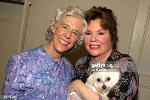 Marsha Mason and Frances Sternhagen during 'Steel Magnolias' Final Performance on Broadway Benefiting The Actors Fund of America at The Lyceum...