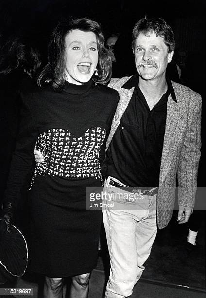Marsha Mason and Gary Campbell during Premiere of 'Stella' at Avco Cinema in Hollywood California United States