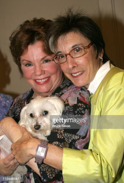 Marsha Mason and producer Robyn Goodman during 'Steel Magnolias' Final Performance on Broadway Benefiting The Actors Fund of America at The Lyceum...