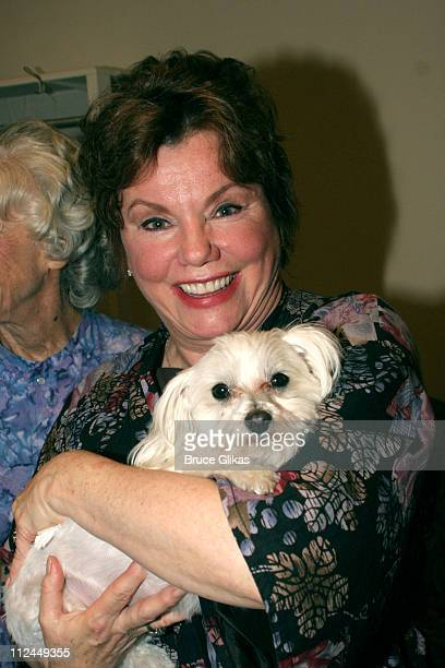 Marsha Mason during 'Steel Magnolias' Final Performance on Broadway Benefiting The Actors Fund of America at The Lyceum Theater in New York City New...