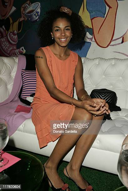 Marsha Thomason during Disney's Alice in Wonderland Mad Tea Party at Private Residence in Los Angeles California United States