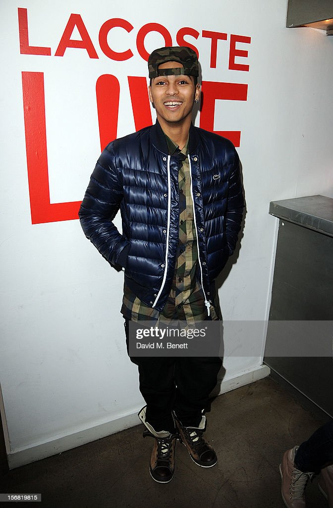 L Marshall attends the launch of Lacoste L!VE at Shoreditch House on November 21, 2012 in London, England.