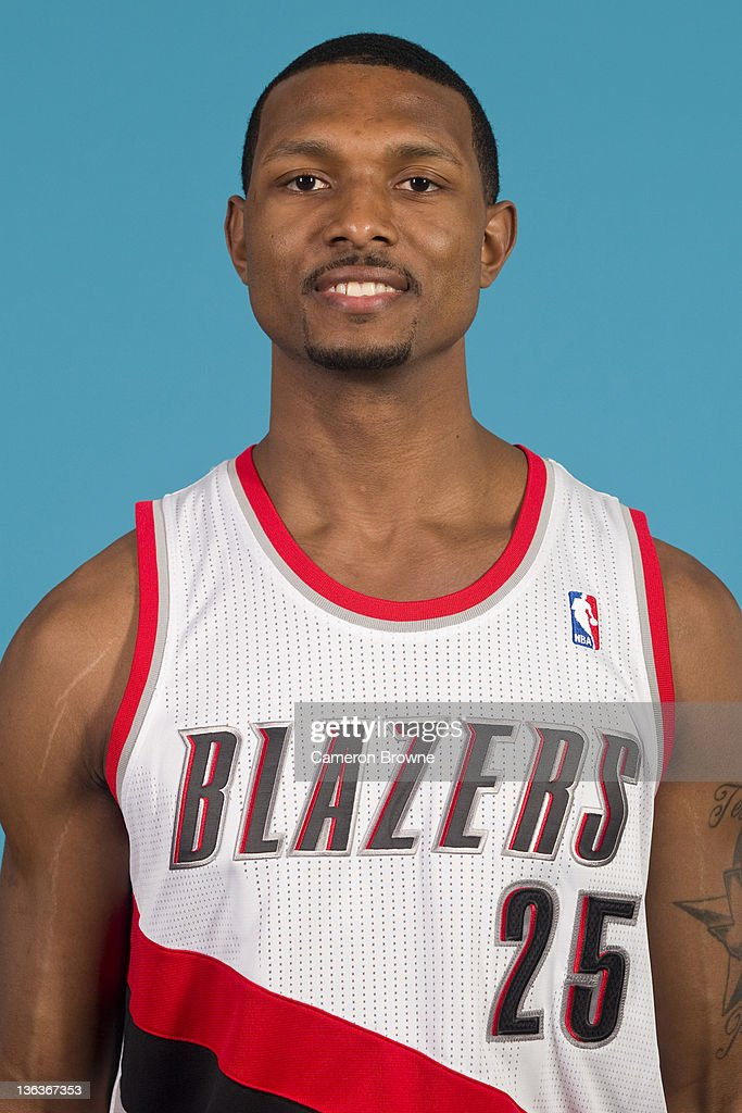 Marshall Brown #25 of the Portland Trail Blazers poses for a portrait during Media Day on December 16, 2011 at the Rose Garden Arena in Portland, Oregon.
