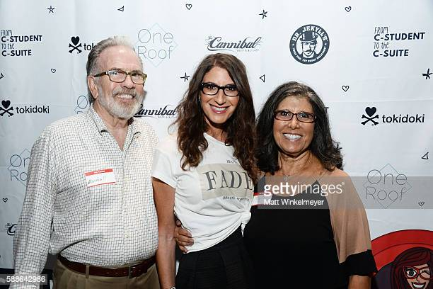 Marshall Caskey Tami Holzman and Phyllis Caskey attend the book launch for 'From CStudent to the CSuite Leveraging Emotional Intelligence' at...