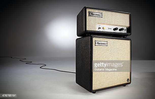 A Marshall Custom Offset head and cab photographed on a grey background taken on June 17 2013