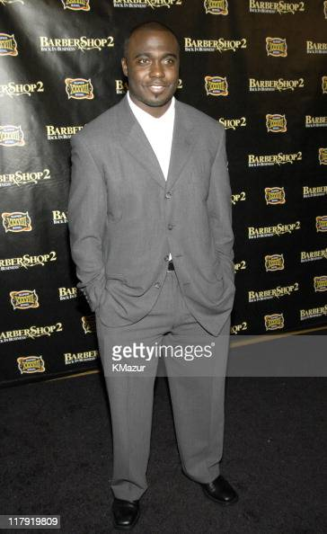 Marshall Faulk during MGM Presents 'Barbershop 2 Back in Business' Special Screening Celebrating Super Bowl XXXVIII at Angelika Film Center in...