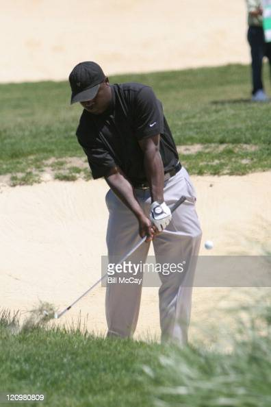 Marshall Faulk during Ron Jaworski's ACME Celebrity ShootOut May 21 2006 at Atlantic City Country Club in Atlantic City New Jersey United States