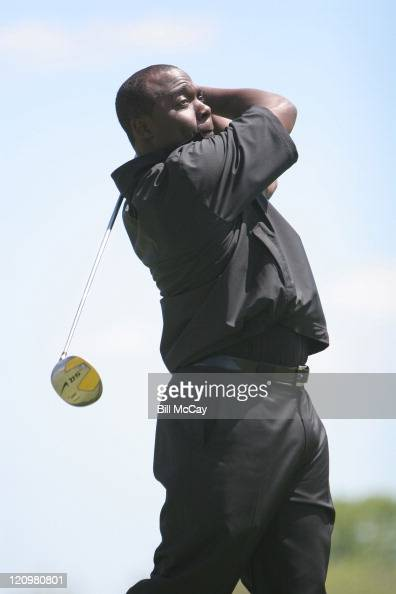Marshall Faulk during Ron Jaworski's UPS Celebrity ProAm May 22 2006 at Atlantic City Country Club in Atlantic City New Jersey United States