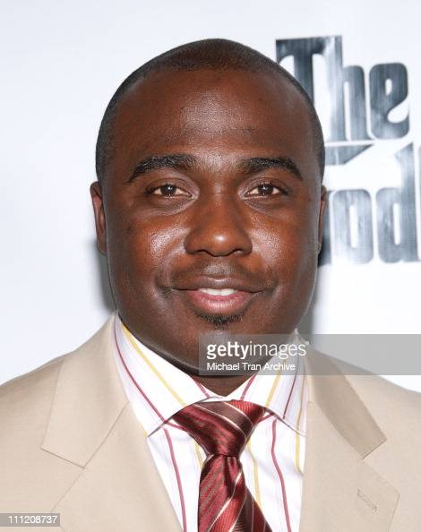 Marshall Faulk during 'The Godfather the Game' on XBOX 360 Party at Stone Rose Lounge in Los Angeles California United States
