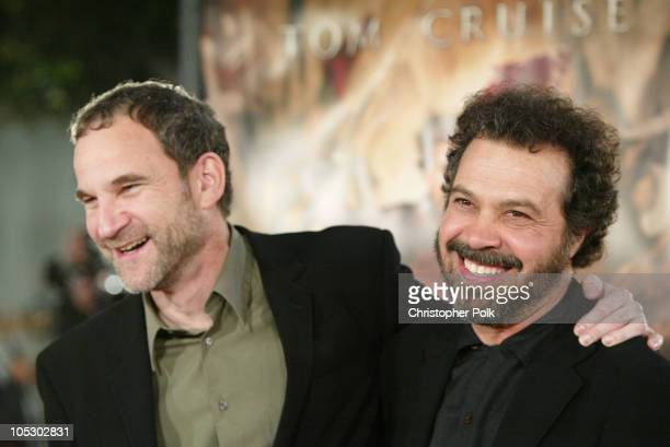 Marshall Herskovitz and Edward Zwick during 'The Last Samurai' Los Angeles Premiere at Mann's Village Theater in Westwood California United States