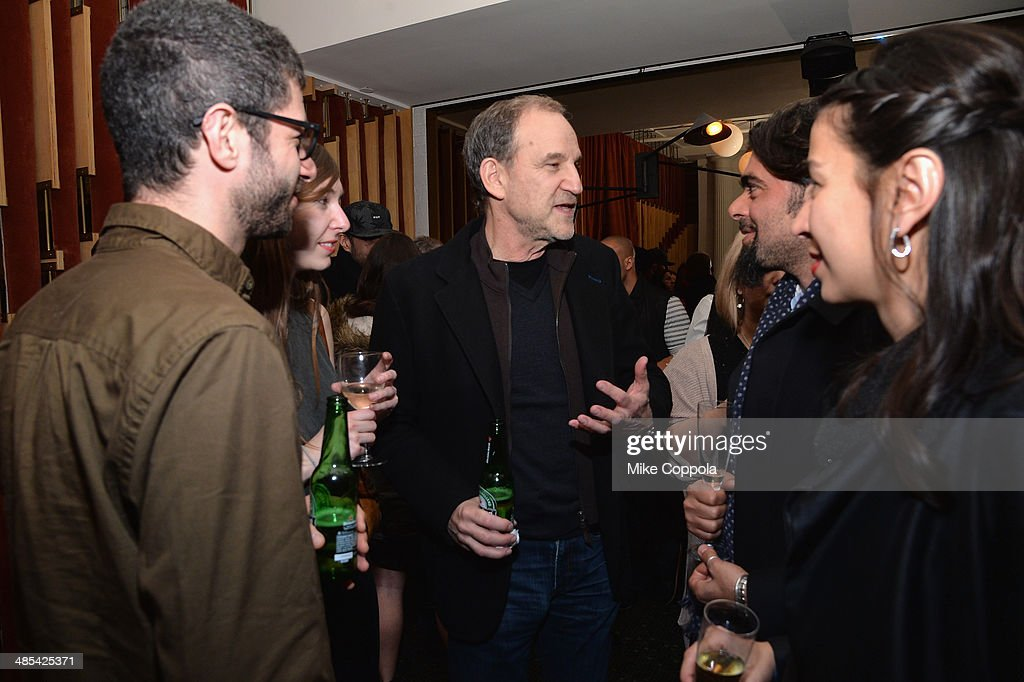 <a gi-track='captionPersonalityLinkClicked' href=/galleries/search?phrase=Marshall+Herskovitz&family=editorial&specificpeople=221552 ng-click='$event.stopPropagation()'>Marshall Herskovitz</a> (C) attends the 'About Alex' Premiere after party during the 2014 Tribeca Film Festival at Kutsher's Tribeca on April 17, 2014 in New York City.