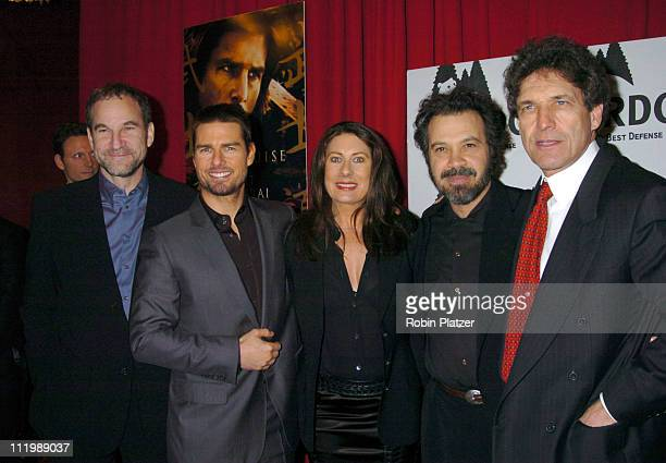 Marshall Herskovitz producer Tom Cruise Paula Wagner Ed Zwick director and Alan Horn